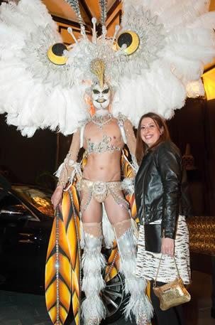 Con sorprendente Drag Queen