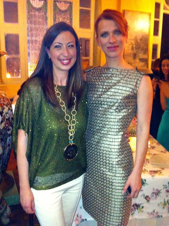 Con Aida Blamann