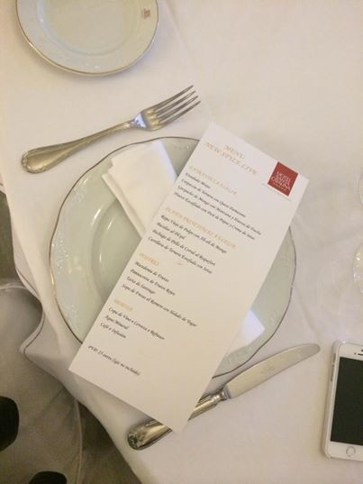 Menú especial en Hotel Santa Catalina